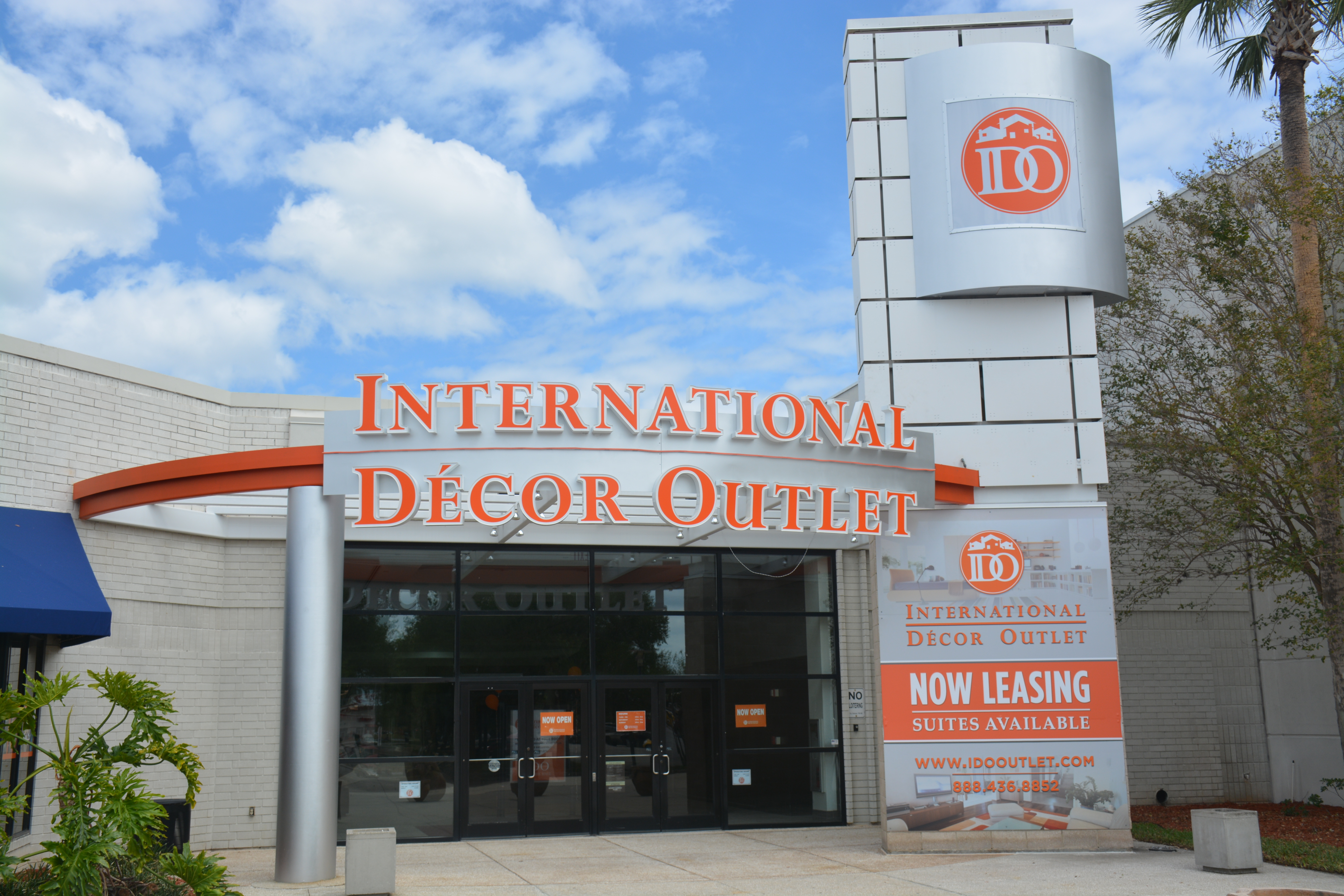 So we stopped by the new international decor outlet in for International decor outlet corp